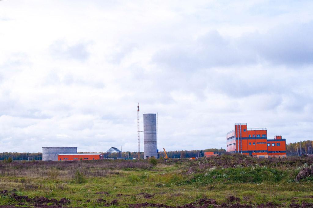 Общий вид на территорию завода